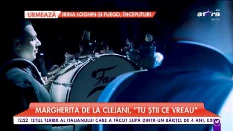 """Margherita de la Clejani a cântat melodia """"Tu știi ce vreau"""""""