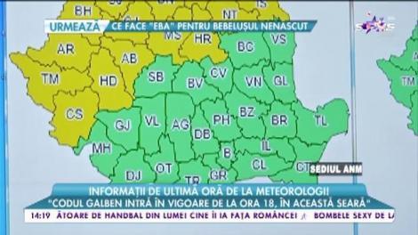 Informații e ultimă oră de la meteorologi! Vremea se schimbă radical!
