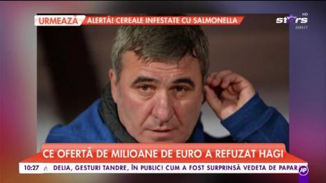 Ce ofertă de milioane de Euro a refuzat Hagi