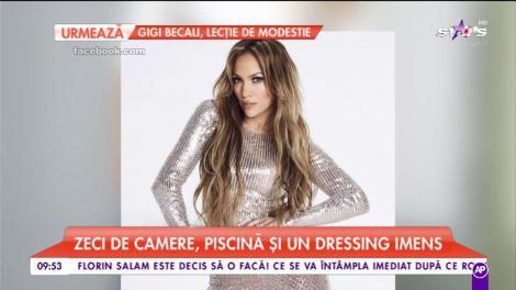 Jennifer Lopez, palat de 40 de milioane de dolari. Vila fabuloasă a cântăreței