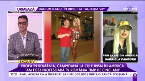 Ea este profa visurilor tale. Și e româncă!!! A devenit campioană la culturism și i-a fermecat pe americani