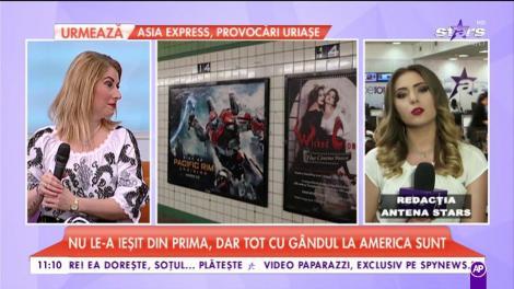 Fetele de la Indiggo, pe posterele din metroul din New York