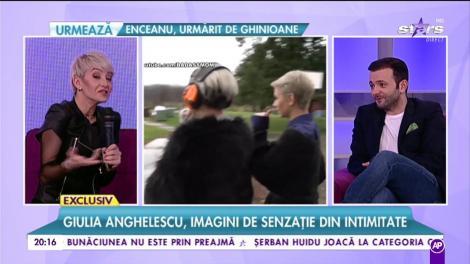 Giulia Anghelescu, imagini de senzație! Cum se relaxează vedeta