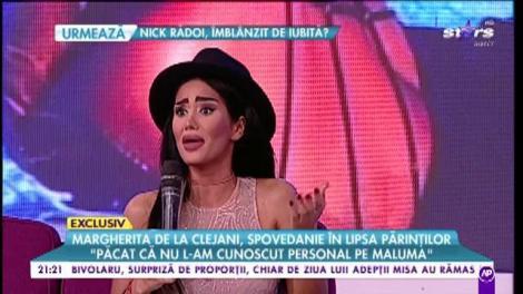 """Lista de păcate a Margheritei de la Clejani: """"Iubitul meu vreau să arate ca Maluma"""""""