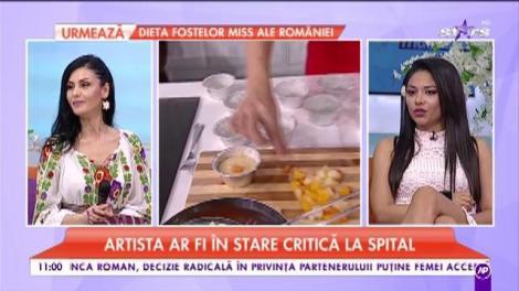 Informații de ultimă oră despre starea de sănătate a Ionelei Prodan. Artista ar fi în stare critică la spital