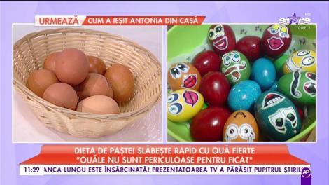 Dieta momentului! Slăbește rapid cu dieta cu ouă fierte. Pașii pe care trebuie să îi urmezi ca să dai jos ZECE kilograme