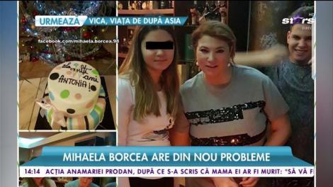 Mihaela Borcea are din nou probleme. În familia sa, kilogramele multe dau bătăi de cap