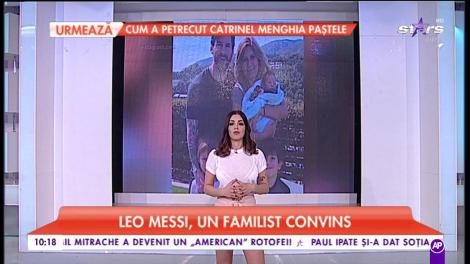 Leo Messi, un familist convins