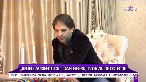 Dan Negru, cea mai frumoasă declarație de dragoste