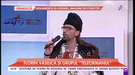"""Florin Vasilică și Grupul """"Teleormanul"""", în platoul matinalilor"""