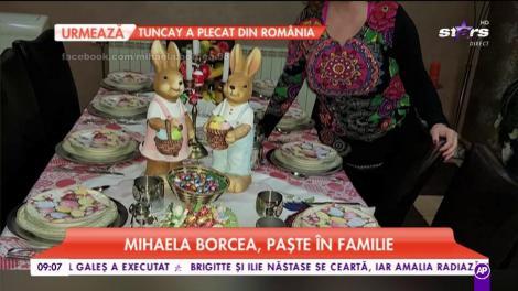 Mihaela Borcea, Paște alături de iubit. Totul a fost pregătit ca la carte