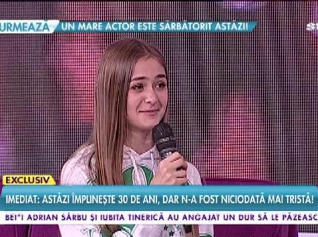 """""""Îmi vine să plâng!"""". Iuliana Beregoi, fostă concurentă Next Star, azi vedetă internațională. Marii artişti se bat să cânte cu ea: """"Horia Brenciu, dă televizorul mai tare, să vezi ce ți-a pregătit!"""""""
