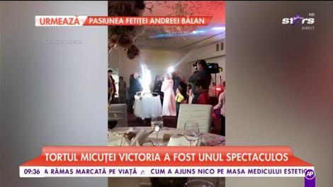 Tavi Clonda și Gabriela Cristea și-au botezat fetița. Au vrut ca evenimentul să fie unul de pomină și au reușit