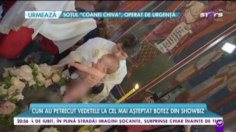 Gabriela Cristea și Tavi Clonda, petrecere de lux pentru micuța Victoria