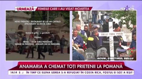 Parastas de lux pentru Ionela Prodan