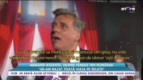 """Armand Assante, despre femeile din România: """"Mi-am bazat toată viața pe relații"""""""