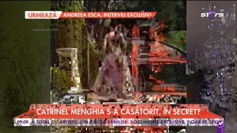 Nuntă în showbiz?! Catrinel Menghia s-a căsătorit, în secret. Cum arată inelul fabulos primit de la faimosul model