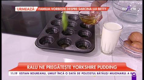 "Ralu ne pregătește ""Yorkshire pudding"""