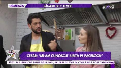 "Cezar Ouatu: ""Mi-am cunoscut iubita pe Facebook"""