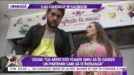 """Cezar Ouatu: """"Iubita mea îmi pupă mâna de mai multe ori pe zi"""""""