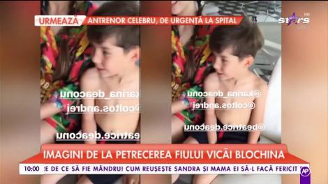 Vica Blochina l-a sărbătorit pe Edan. Blondina a dat o petrecere tematica