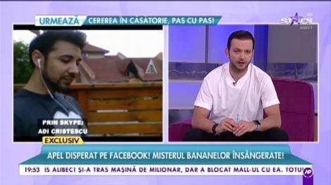 """Apel disperat pe Facebook! Misterul bananelor însângerate. Adi Cristescu: """"Este un fel de boală a bananelor"""""""
