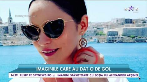 Andreea Marin s-a logodit în Malta? Bruneta se mândrește cu un inel