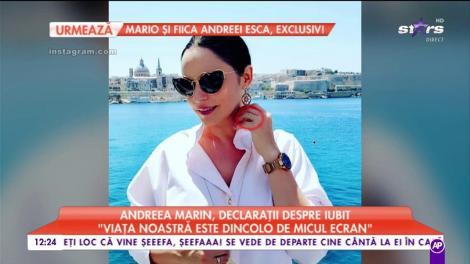 Andreea Marin, declarații despre iubit. Ce spune vedeta despre presupusul inel de logodnă