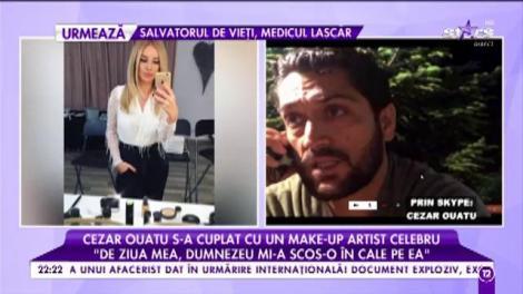 """Cezar Ouatu, despre femeia care i-a furat inima: """"La început am curtat-o în mediul online"""""""