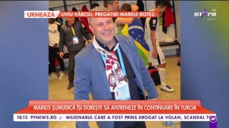 Marius Șumudică își dorește să antreneze în continuare în Turcia