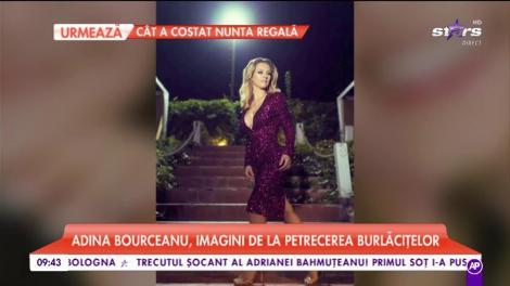 Adina Bourceanu, imagini de la petrecerea burlăcițelor!