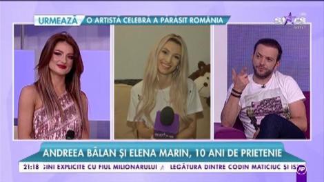 """Andreea Bălan și dansatoarea ei, Elena Marin, zece ani de prietenie: """"La 3 dimineața, dacă plâng și sunt în depresie, o sun. Este acel om din viața mea"""""""