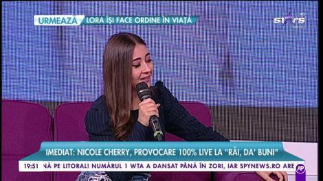 Nicole Cherry, un nou hit după o pauză de un an. Cântăreața spune adevărul despre relația cu tatăl ei