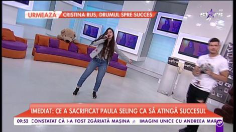 """Sofia cânta piesa """"Hotel"""""""