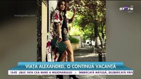 Alexandra Popescu, prezentatoare tv, a dat cariera pe dragoste. Un multimilionar îi pune lumea la picioare