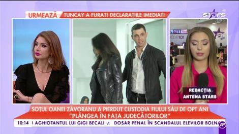 """Soțul Oanei Zăvopranu a pierdut custodia fiului său de opt ani: """"Plângea în fața judecătorilor"""""""