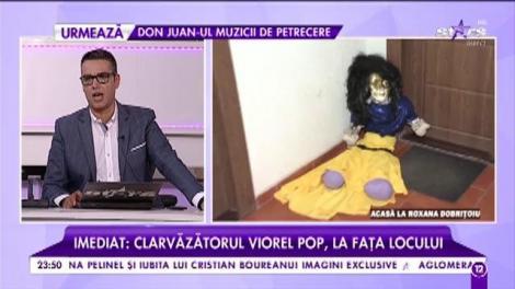 Nepoata lui Adi de la Vâlcea, în pericol? Roxana Dobriţoiu a găsit o păpuşă ciudată în faţa uşii!