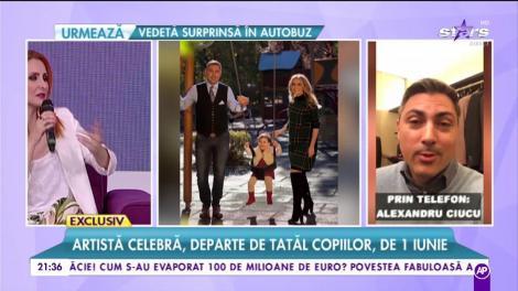 Alina Sorescu, departe de soț și de fetițe de 1 iunie! Ce surpriză le-a pregătit micuțelor Alexandru Ciucu