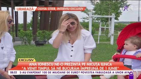 """Ana Ionescu, cât de greu este rolul de mămică: """"A venit timpul să ne bucurăm împreună de 1 Iunie"""""""