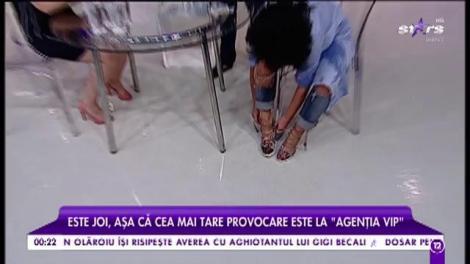 """La """"Agenţia VIP"""" continuă războiul cu apă! Bianca vs. Angie Cobuţ!"""