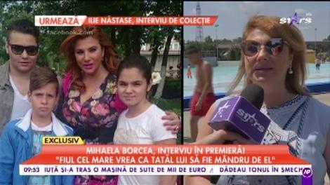 """Mihaela Borcea, interviu în premieră: """"Am trecut prin foarte multe lucruri grele"""""""