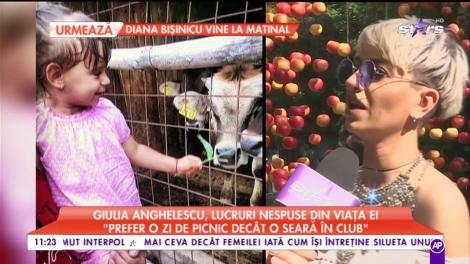 """Giulia Anghelescu, lucruri nespuse din viața ei: """"Tatăl meu este cel mai drăguț bunic pentru ei"""""""