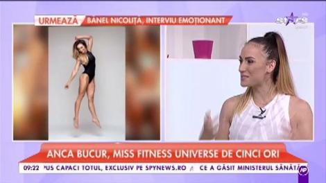 Anca Bucur este gravidă. Cum arată Miss Fitness Universe însărcinată