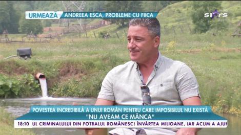 Povestea incredibilă a lui Vasile, un român pentru care imposibilul nu există