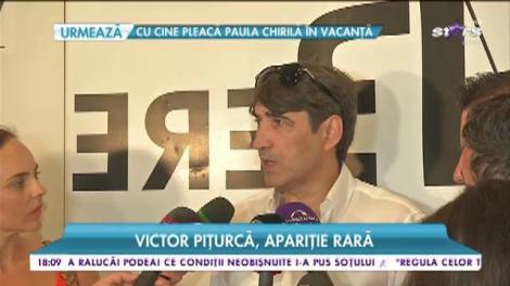 Victor Piţurcă, apariţie rară! Cine l-a convins pe antrenor să meargă la un eveniment monden