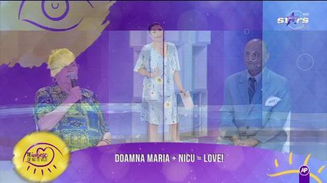 """Doamna Maria și Nicu, la """"Denutevezi"""". Vor dori cei doi să se cunoască mai bine?"""