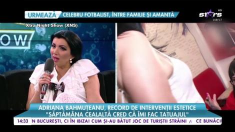 Adriana Bahmuţeanu a avut nevoie de un număr RECORD de intervenții estetice. Prin ce trece vedeta