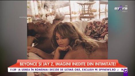 Beyonce și Jay Z, imagini din intimitate