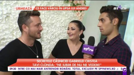 Gabriela Cristea și Tavi Clonda, surprinși de paparazzi! Ipostază inedită pentru cei doi: Toți fanii au întors privirile
