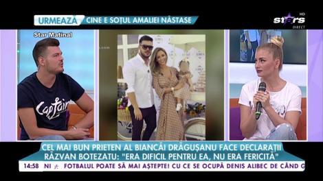 Cel mai bun prieten al Biancăi Drăgușanu face declarații. Ce s-a întâmplat între vedetă și soț